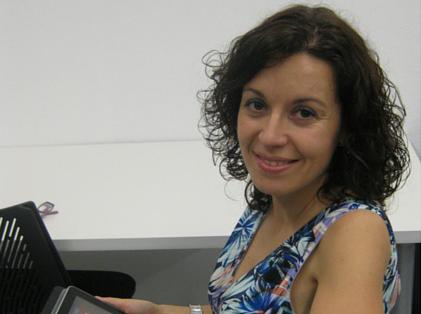 Carmen María Cubero, Gigabyte Espanya