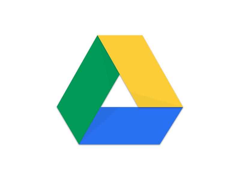 Logotip de Google Drive