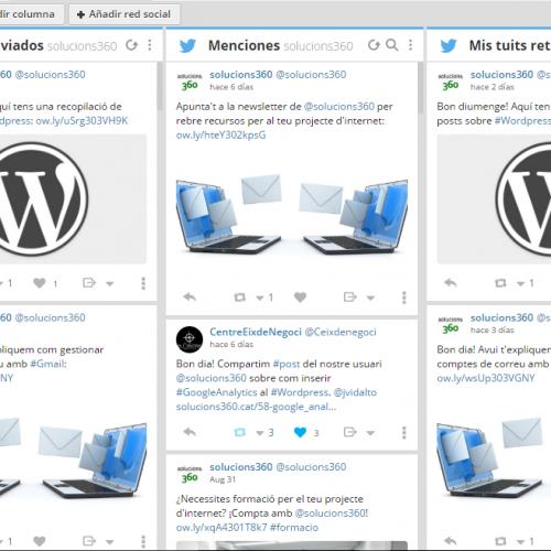 Gestionar xarxes socials amb Hootsuite