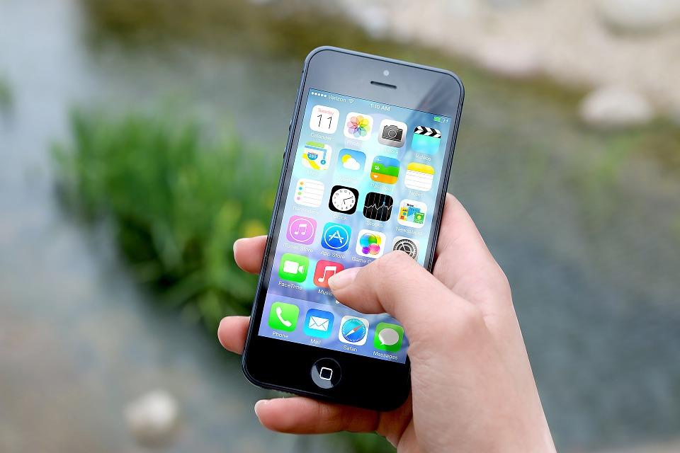 Smartphone amb apps